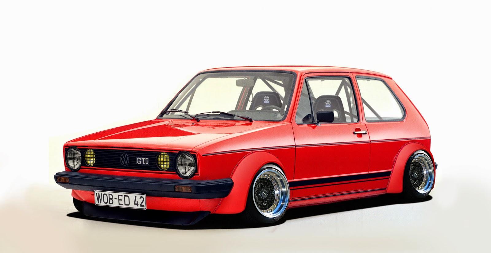 Vip Rc Body Rc Vw Golf Gti Mk1