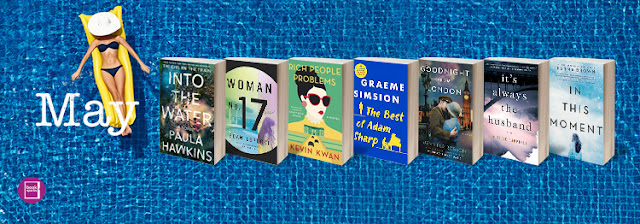 Booksparks Summer Reading List for May | Tomes and Tequila Book Blog
