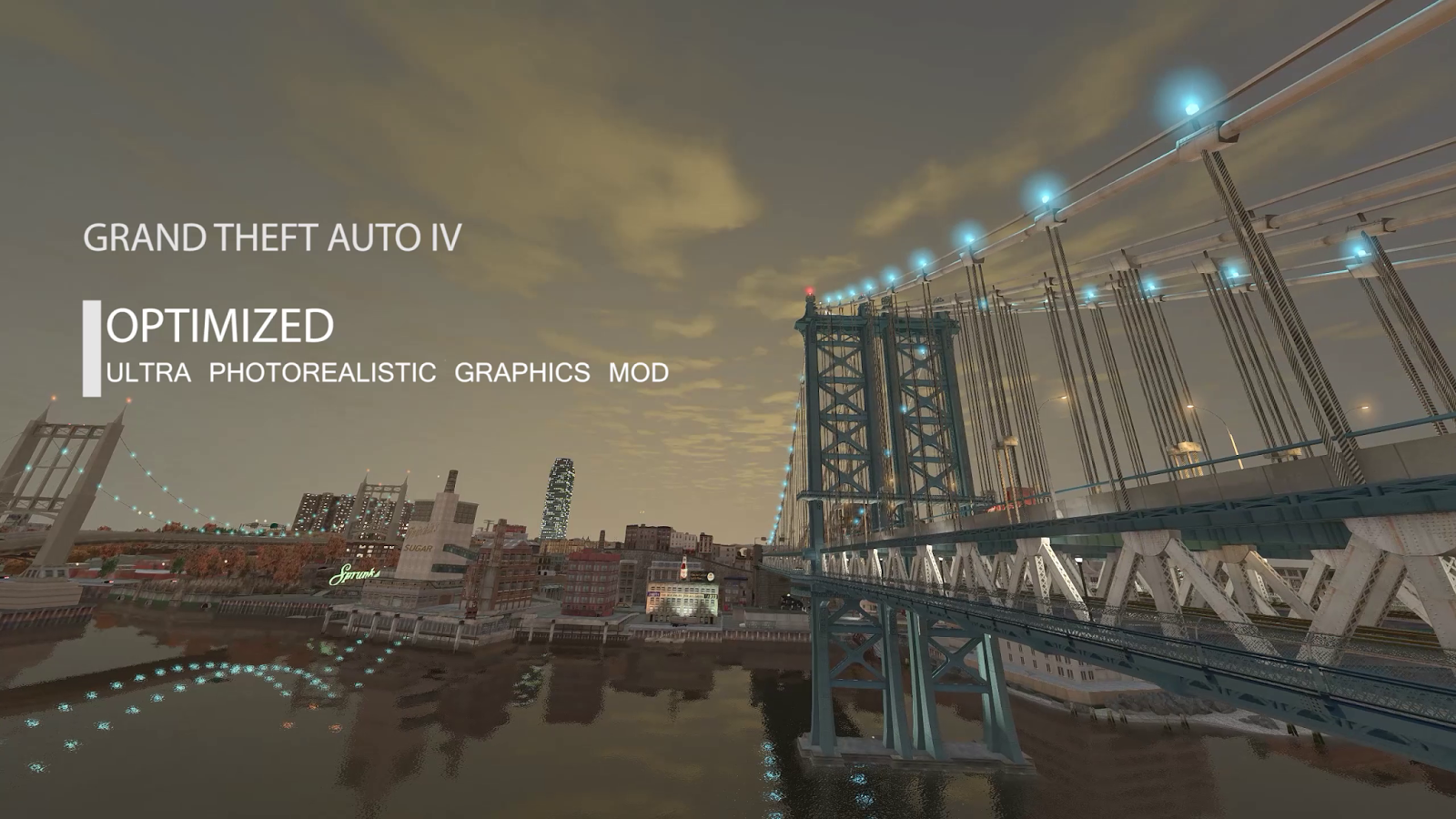 GTA IV Ultra Photorealistic ENB Graphics Mod 2017 -Optimized