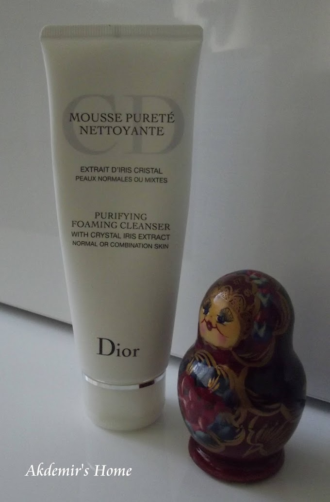 Dior Purifying  Foaming Cleanser     İnceleme