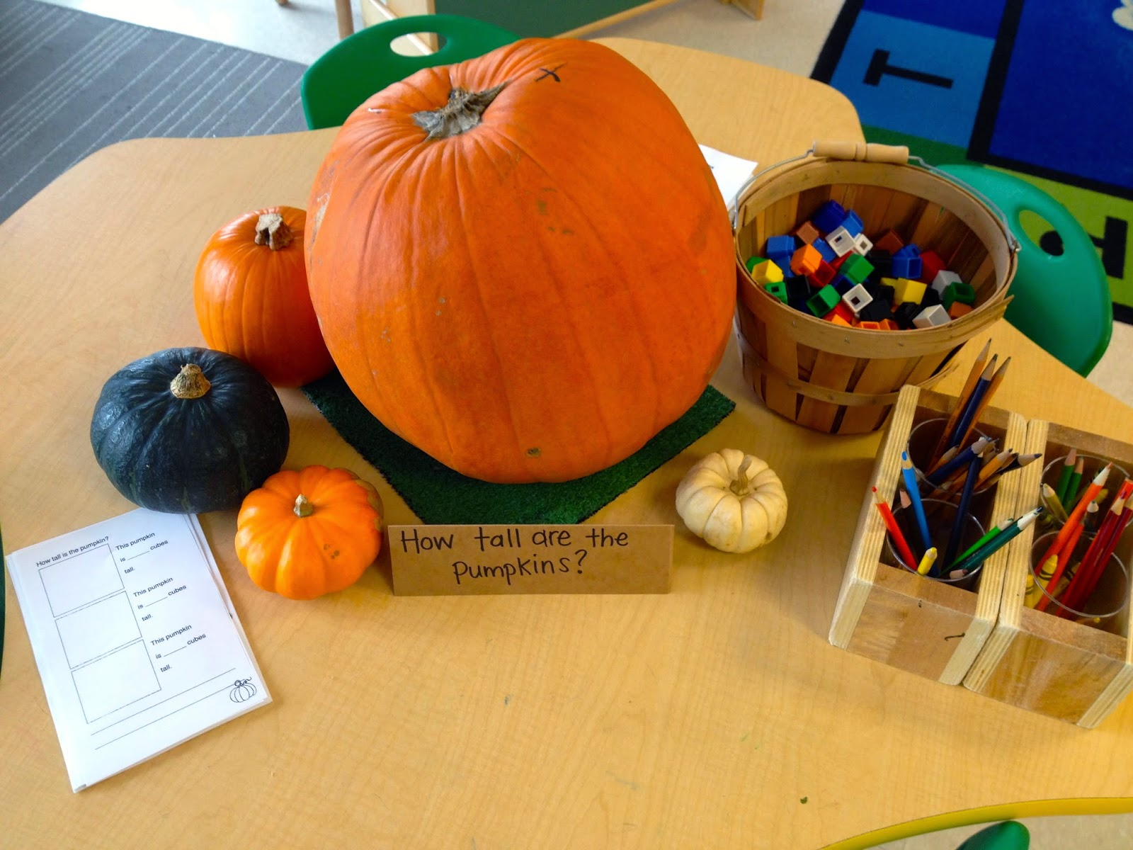 Thinking And Learning In Room 122: Pumpkin Math