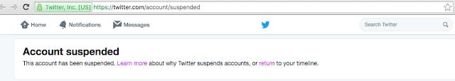 Niger delta Avenger twitter acoount  deactivated