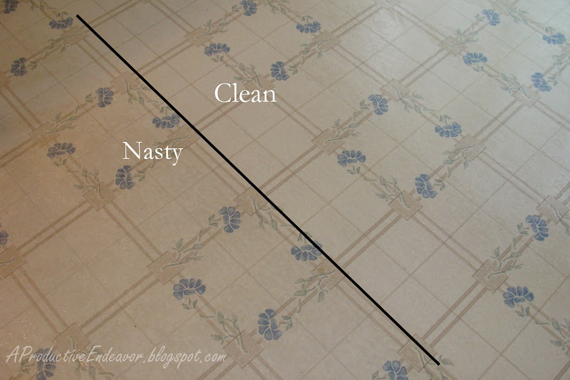A Productive Endeavor New Kitchen Floor And Tips