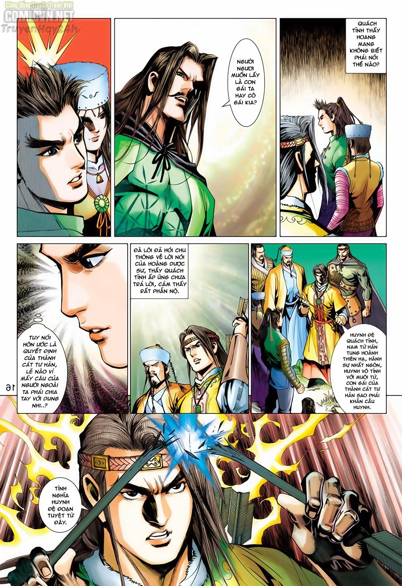 Anh Hùng Xạ Điêu anh hùng xạ đêu chap 65: cái bang tân chủ trang 16