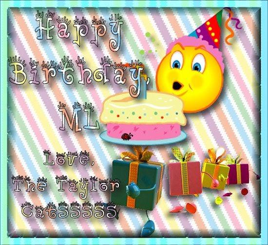 Birthday Happy Nelly Cats