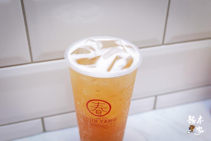 捷運大安站網美IG打卡點|春陽茶事|檸檬蜜烏龍黑糖珍珠鮮奶好喝|捷運大安站外送飲料|甘蔗青茶大安站旁
