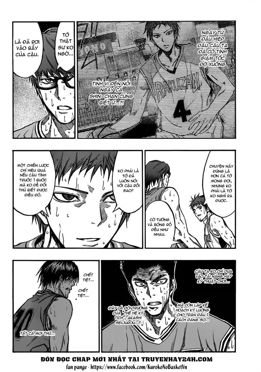 Kuroko No Basket chap 182 trang 12