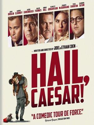 Poster Hail, Caesar! 2016