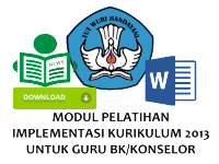 Modul Pedoman Implementasi BK Dalam Kurikulum 2013
