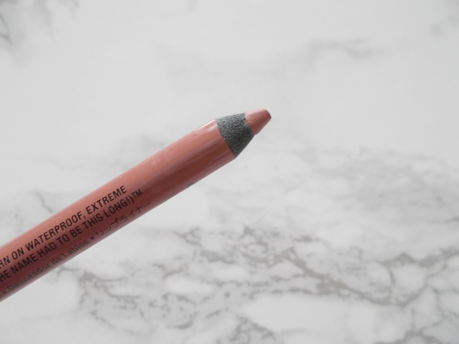 nyx nude suede shoes lip liner review