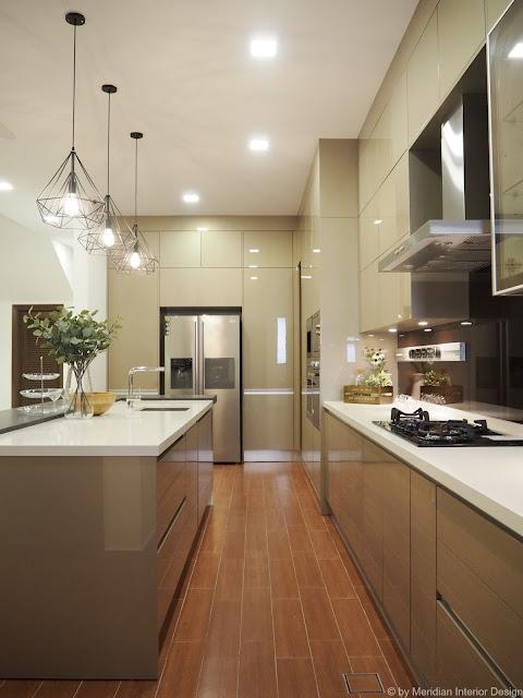 Signature Kitchen design by Meridian Interior Design, Kuala Lumpur.
