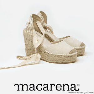 Queen Letizia wore a new Macarena shoes
