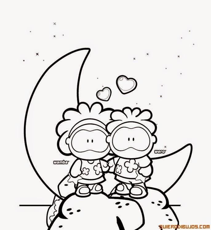 Dibujos Animados De Amor Para Dibujar Faciles Dibujos Animados