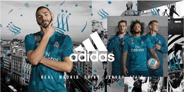 Adidas lanza la 3ª Camiseta del Real Madrid para 2017/18