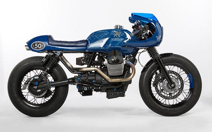 Vanguard Moto Guzzi design