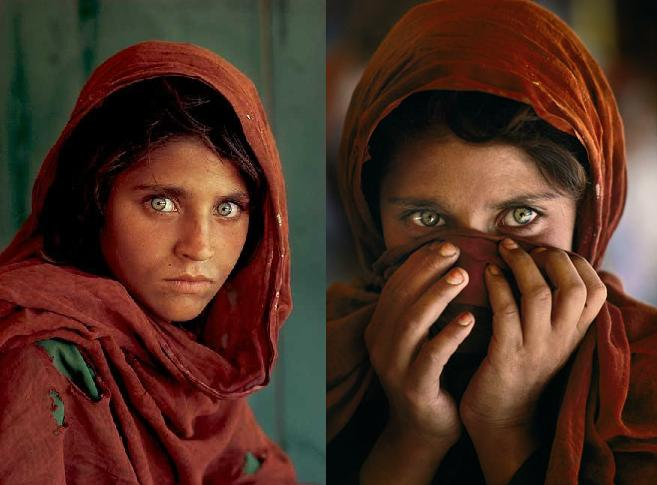 Sharbat Gula, 1984 by Steve McCurry