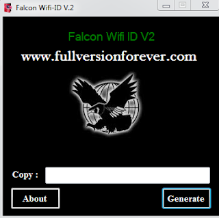 Free download wifi-ID Generator v2 latest full version for Windows