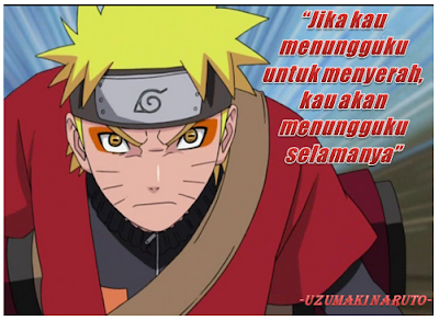 Kata Kata Bijak Naruto Yang Menyentuh Jiwa