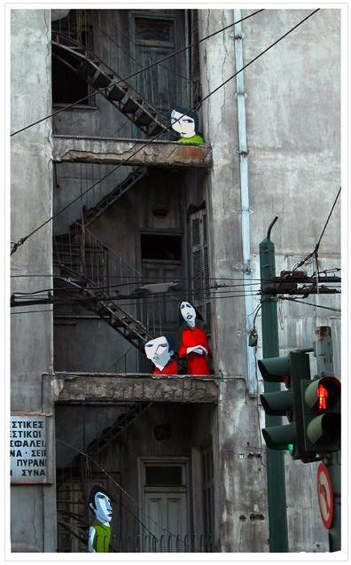 Alexandros Vasoumakis Street Art Athens
