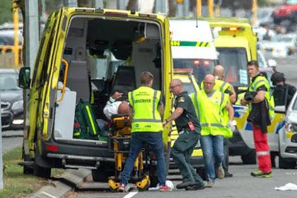 Penembakan Brutal di Masjid Selandia Baru Tewaskan 49 Orang