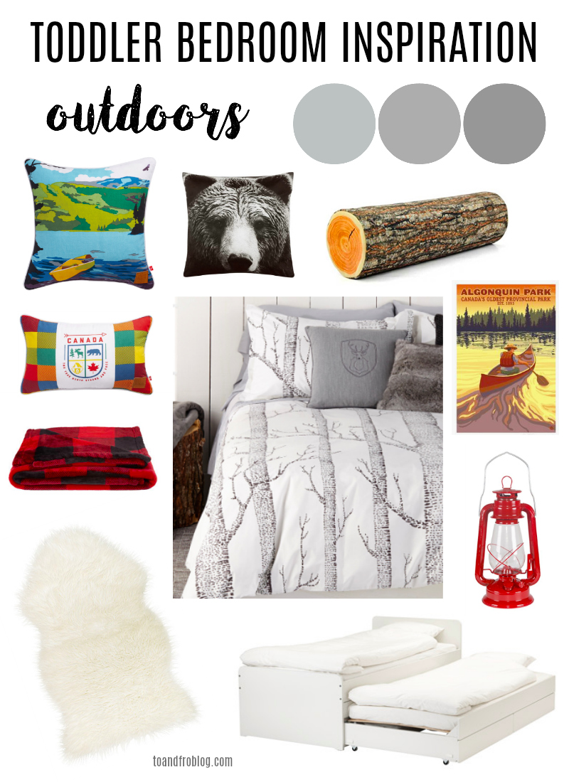 Child Outdoor Theme Bedroom Inspiration