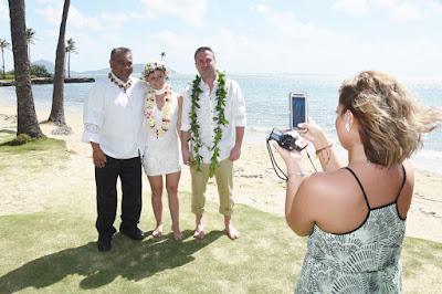 Celebrant in Honolulu