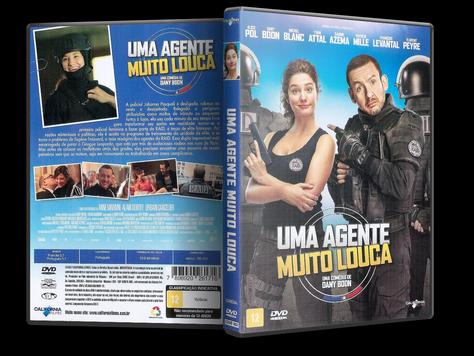 Capa DVD Uma Agente Muito Louca
