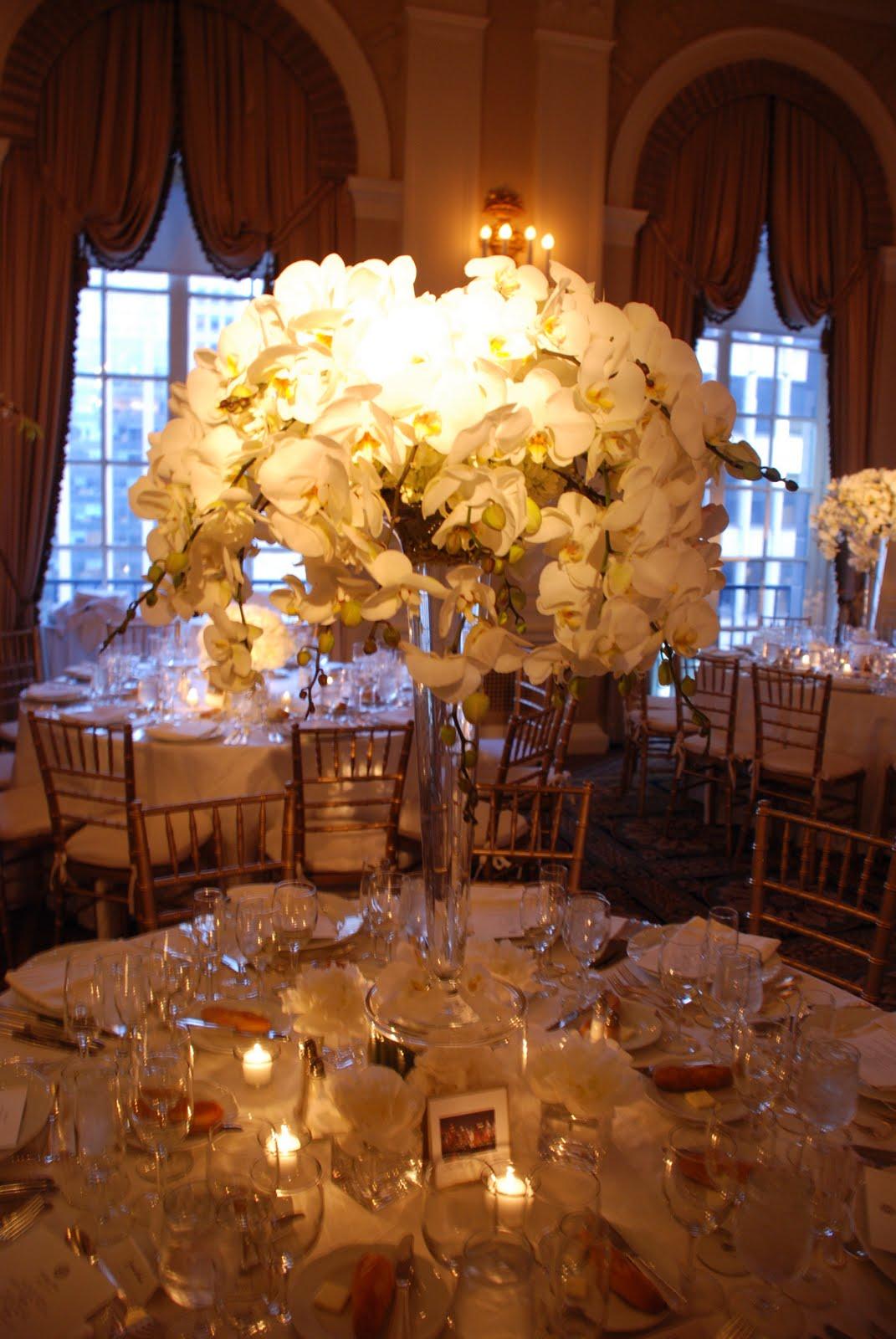 blade new york Wedding Wednesday Low vs High Centerpieces