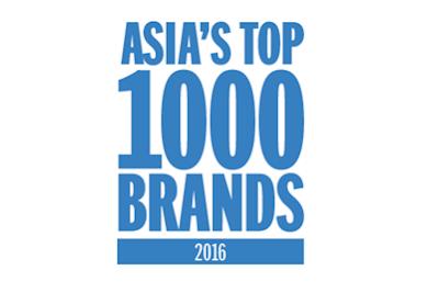 Daftar Merek Terbesar di Asia 2016