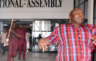 Names of Thugs Used By Sen. Omo-Agege To Invade the Nat'l Assembly