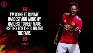 Manchester United Resmi Perkenalkan Pemain Baru Fred