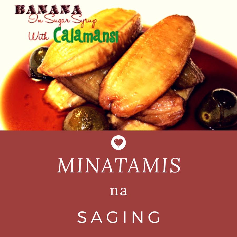 minatamis na saging with calamansi www.jeepneyrecipes.com