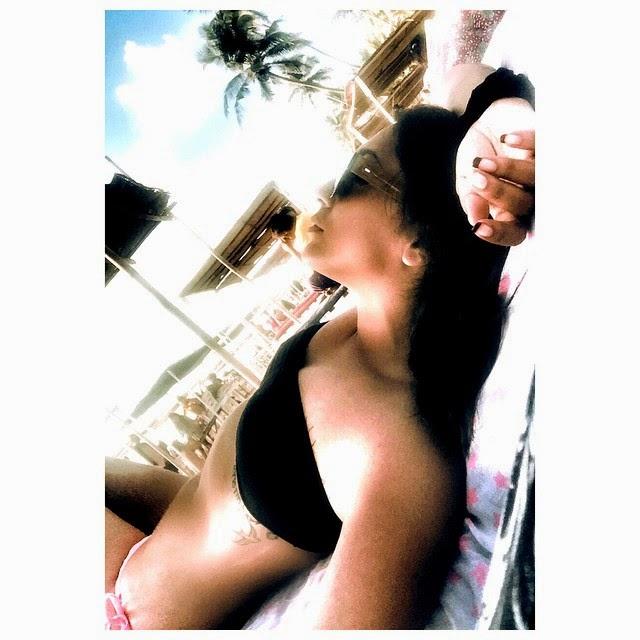 beach life forever 👙☀️🌊.. go a , beach , beach life , sunk is sed , insta pic , insta style , bikini , fashion , style , love , happiness , happy newyear ,, Shweta Salve Bikini Body Pics from Goa Beach