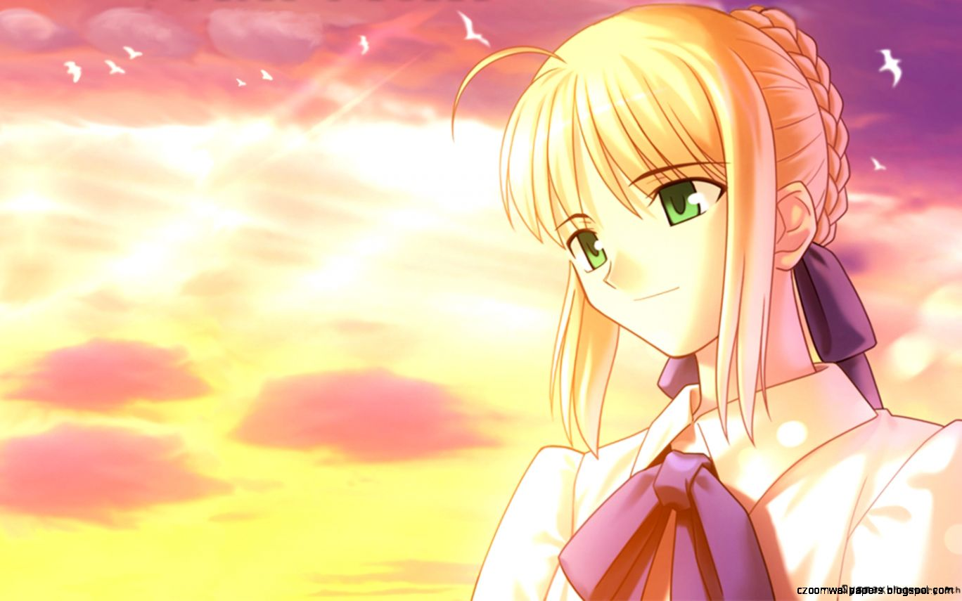 Saber Fate Stay Night Wallpaper Hd Zoom Wallpapers