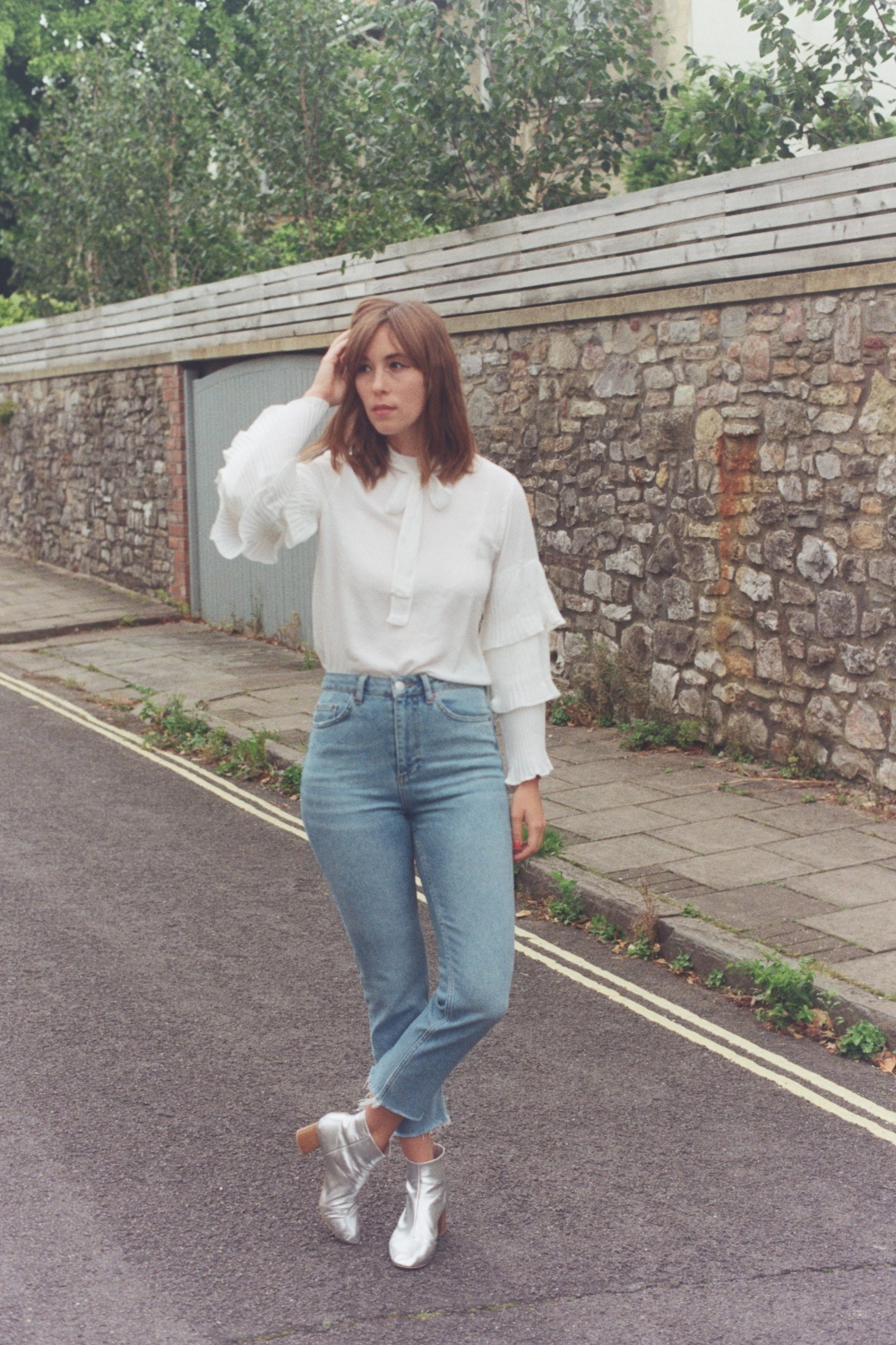 Fashion on film - experimenting with film photography for outfit posts