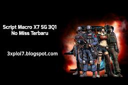 Script Macro X7 SG 3Q1 No Miss Terbaru