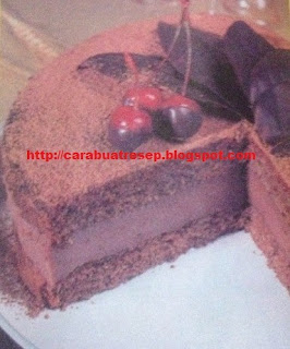 Foto Kue Lapis Double Coklat Spesial