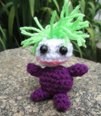 Amigurumi Joker Free Crochet Pattern - Amigurumi Free Patterns | 229x200