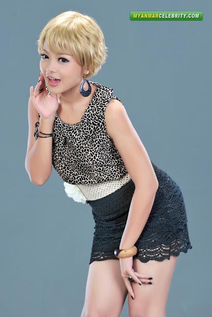 Cute Model Nann Khin Zayar's Lovely Fashion Photos