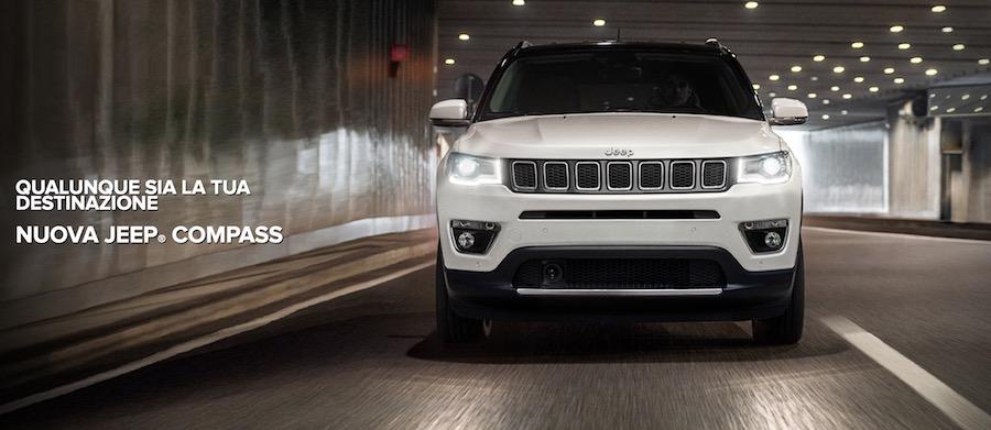 Dimensioni nuova Jeep Compass 2017 e Bagagliaio