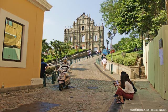 RUÍNAS DE SÃO PAULO - MACAU