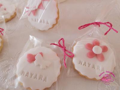 Maceta de galletas para primera comunión