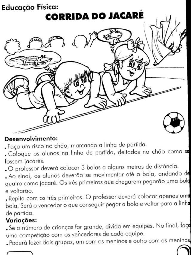 Educadora Lina Educacao Fisica 45 Atividades Exercicios