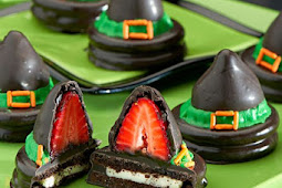 Recipe These Wickedly Wonderful OREO Witches' Hats are a Menu Must