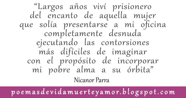 la vibora - Poema de amor de Nicanor Parra
