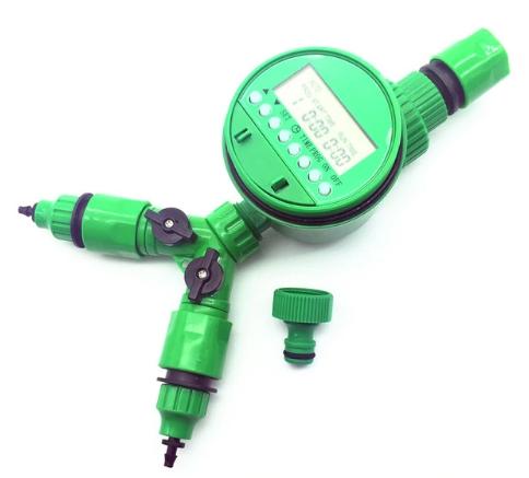 Система автоматического полива для дачного участка с автономным контроллером и набором переходников automatic watering