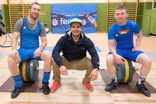 Markus, Pascal und Sebastian nach dem Wettkampf gegen Donaueschingen