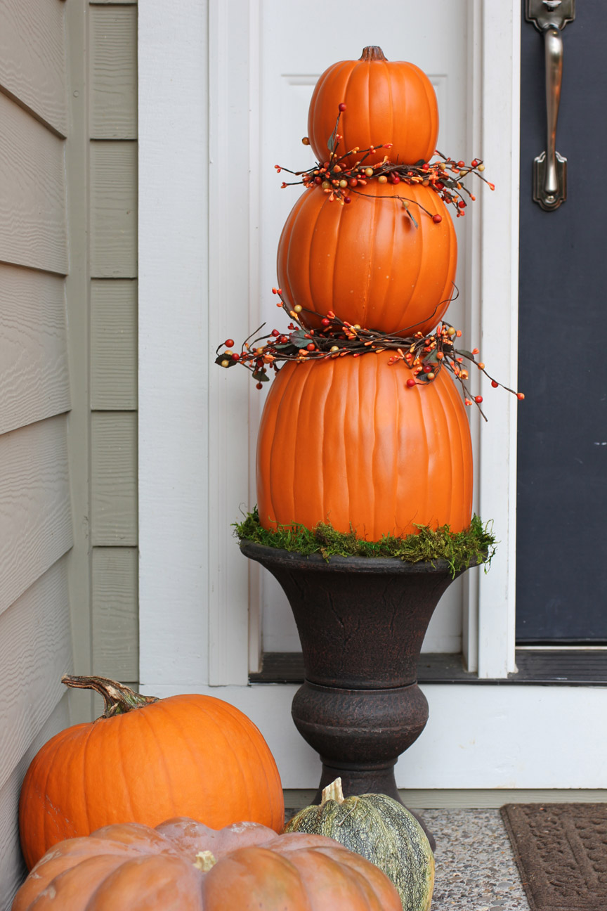 Pumpkin Topiaries Repeat Crafter Me