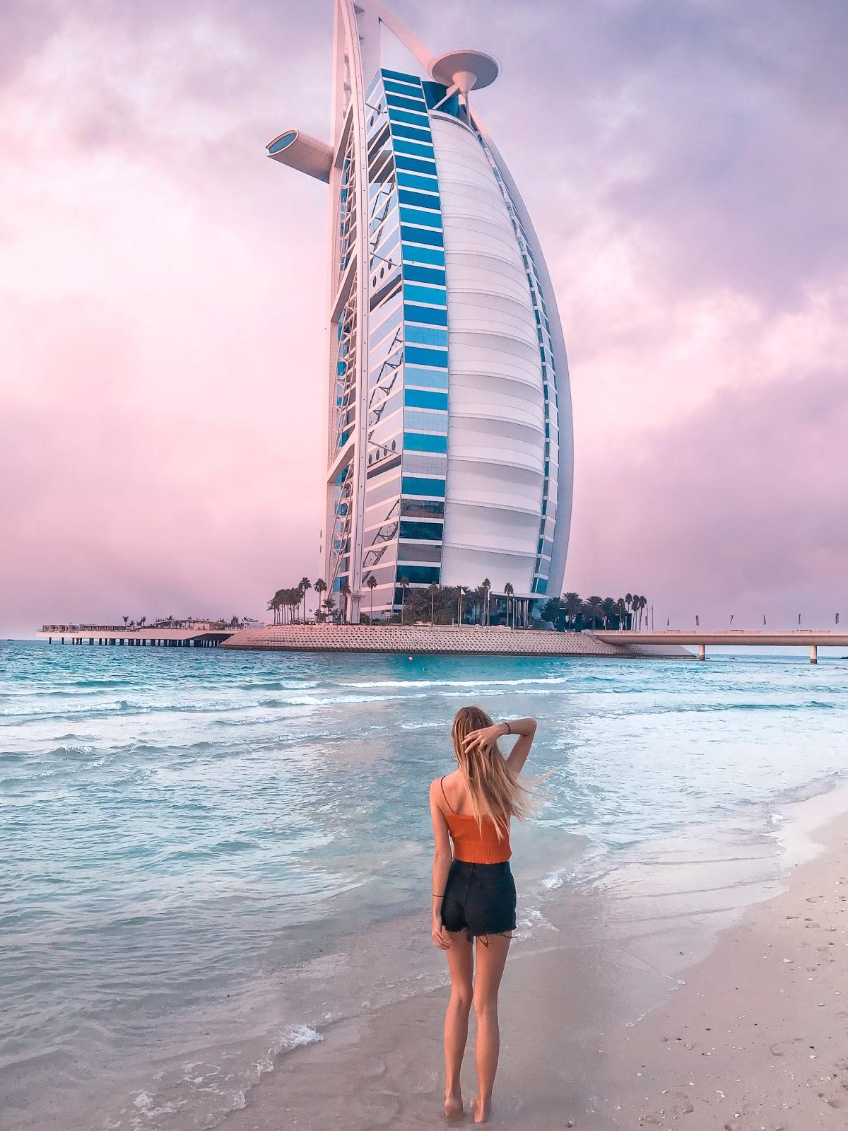 burj al arab dubai view