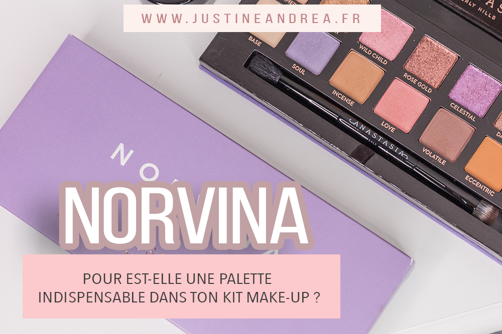 La palette anastasia est un indispensable make up
